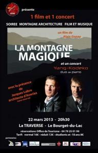 flyer Montagne Magique